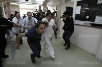 Hospital Roosevelt | Pandilleros que rescataron a reo protagonizan balacera y dejan siete muertos