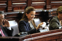 Daniela Beltranena goza de permisos para salir de prisión y ha regresado ebria, aseguran autoridades