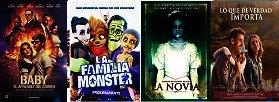 Cartelera De Cines El Salvador del 01 al 08 de Septiembre 2017