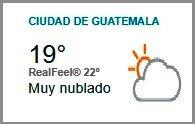 Clima Nacional septiembre 19, martes
