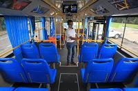 El primer autobús totalmente eléctrico ya llegó a Guatemala