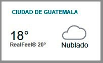 Clima Nacional septiembre 29, viernes