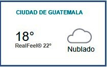 Clima Nacional octubre 03, martes