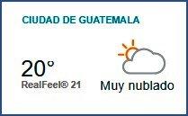 Clima Nacional octubre 04, miércoles