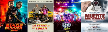 Cartelera De Cines El Salvador del 06 al 13 de octubre 2017