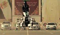 La policía de Dubái prueba con éxito la moto voladora rusa Scorpion-3 (vídeo)