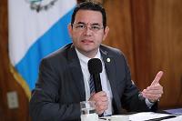 CSJ rechaza antejuicios contra Jimmy Morales