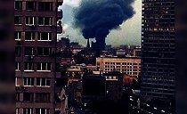 Última Hora: Se produce un fuerte incendio en el centro histórico de Moscú