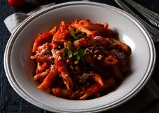 Penne rigate all´amatricianna