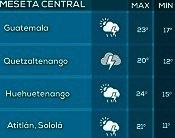 Clima Nacional octubre 26, jueves