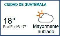 Clima Nacional noviembre 02, jueves