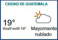 Clima Nacional noviembre 03, viernes