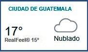 Clima Nacional noviembre 07, martes