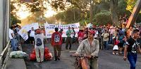 Pilotos desalojan a integrantes de CODECA en Río Hondo, Zacapa