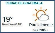 Clima Nacional noviembre 08, miércoles
