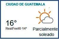 Clima Nacional noviembre 09, jueves
