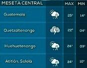 Clima Nacional noviembre 10, viernes