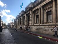 Queda libre paso vehicular en zona 1, tras manifestaciones