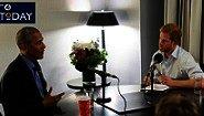 La entrevista en BBC del principe Harry de Inglaterra a Barack Obama y sus puntos de vista