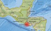 Un sismo de magnitud 4,3 sacude El Salvador