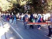 Manifestaciones de CODECA en diferentes puntos del país