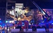Última Hora: Catorce heridos graves al derrumbarse edificio en Amberes por explosión