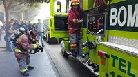 Incendio en edificio de zona 1 ha sido controlado