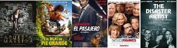 Cartelera de Cines Guatemala del 19 al 26 de Enero de 2018