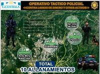 Actualización: Cuatro detenidos por sustracción de Q500 mil en la Municipalidad de Palencia