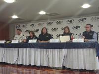 Conferencia de prensa: tras capturas por asesinato de exmagistrado y robo a cuentahabientes
