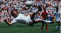 Eligen mejor gol de Mundiales y es… de Manuel Negrete en 1986