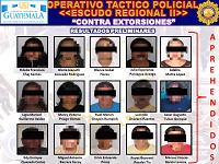 #Actualización: 71 detenidos durante Operación Escudo Regional II