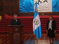 Juramentan a María Consuelo Porras como Fiscal General