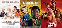 Cartelera de Cines Guatemala del 25 de Mayo al 01 de Junio 2018