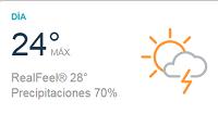 Clima Nacional junio 04, lunes