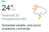 Clima Nacional junio 05, martes