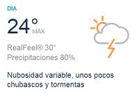 Clima Nacional junio 07, jueves
