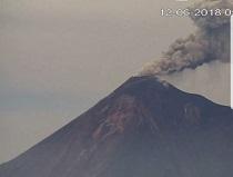 Actualización: Descenso de lahar del Volcán de Fuego