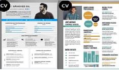 Cómo hacer Currículum infográfico