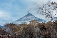 Volcán de Fuego: Se registra descenso de lahares