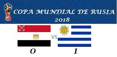 EGIPTO VS URUGUAY