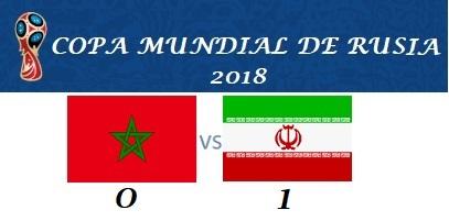 MARRUECOS VS RI DE IRÁN