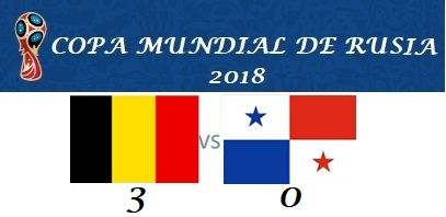 BÉLGICA VS PANAMÁ