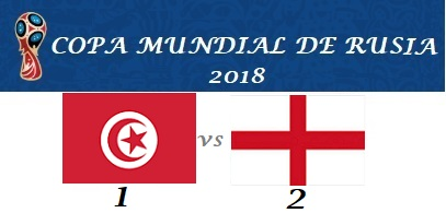 TÚNEZ VS INGLATERRA