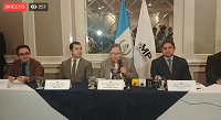 Conferencia de prensa de la Fiscal Consuelo Porras
