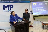 Conferencia de prensa sobre allanamientos y visas de CICIG