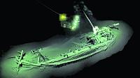 Hallan el barco más antiguo del mundo bajo las aguas del mar Negro