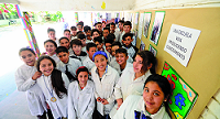 La increíble fórmula creada por niños uruguayos que puede ayudar al mundo a tratar aguas residuales