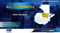 #Actualización: Capturan a ex empleados municipales de Alta Verapaz