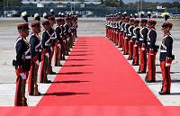 Rey de España y Jefes de Estado arriban a Guatemala
